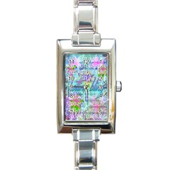 Drake 1 800 Hotline Bling Rectangle Italian Charm Watch