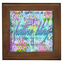 Drake 1 800 Hotline Bling Framed Tiles