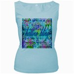 Drake 1 800 Hotline Bling Women s Baby Blue Tank Top Front