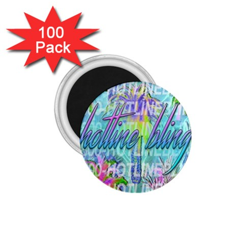 Drake 1 800 Hotline Bling 1.75  Magnets (100 pack)