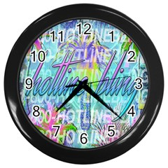 Drake 1 800 Hotline Bling Wall Clocks (Black)