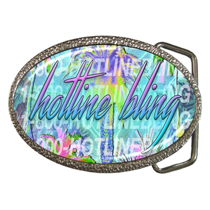Drake 1 800 Hotline Bling Belt Buckles