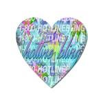 Drake 1 800 Hotline Bling Heart Magnet Front