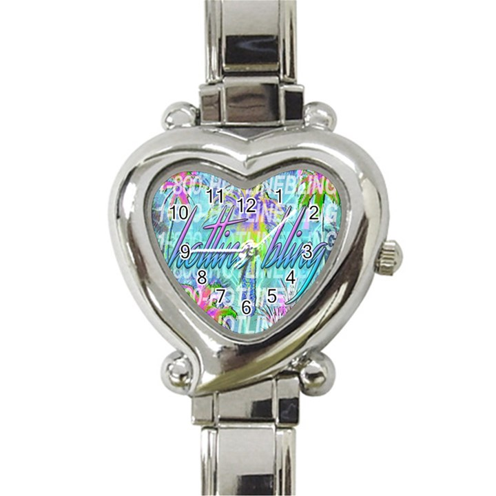 Drake 1 800 Hotline Bling Heart Italian Charm Watch
