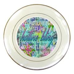 Drake 1 800 Hotline Bling Porcelain Plates