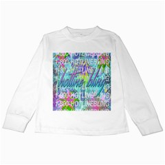 Drake 1 800 Hotline Bling Kids Long Sleeve T-Shirts