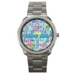 Drake 1 800 Hotline Bling Sport Metal Watch
