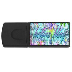 Drake 1 800 Hotline Bling Usb Flash Drive Rectangular (4 Gb)