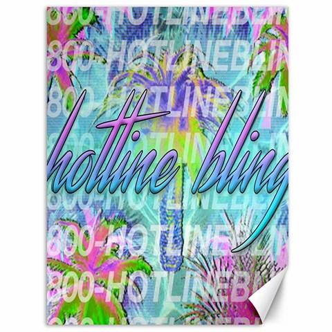 Drake 1 800 Hotline Bling Canvas 36  x 48