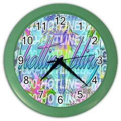 Drake 1 800 Hotline Bling Color Wall Clocks