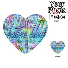 Drake 1 800 Hotline Bling Multi-purpose Cards (Heart)
