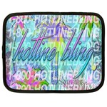 Drake 1 800 Hotline Bling Netbook Case (Large) Front