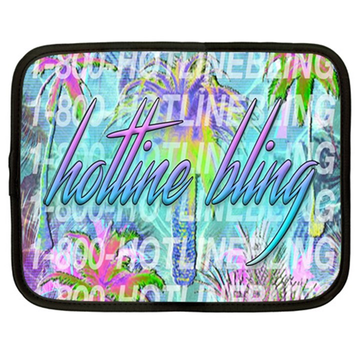 Drake 1 800 Hotline Bling Netbook Case (Large)