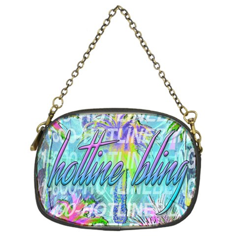 Drake 1 800 Hotline Bling Chain Purses (Two Sides)