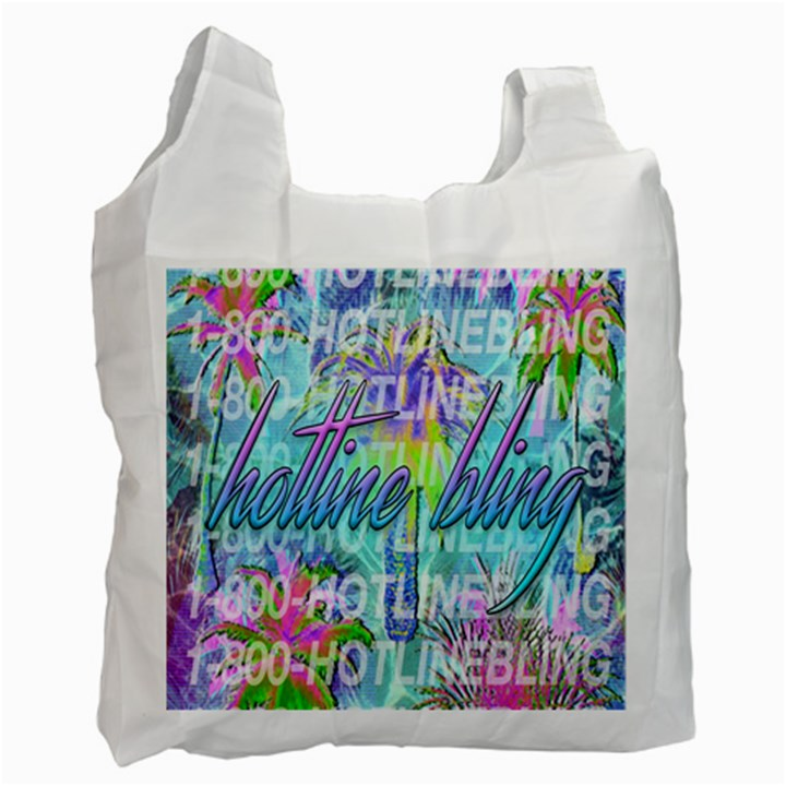 Drake 1 800 Hotline Bling Recycle Bag (One Side)