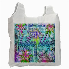 Drake 1 800 Hotline Bling Recycle Bag (Two Side)