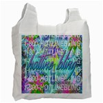 Drake 1 800 Hotline Bling Recycle Bag (Two Side)  Front