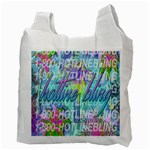 Drake 1 800 Hotline Bling Recycle Bag (Two Side)  Back