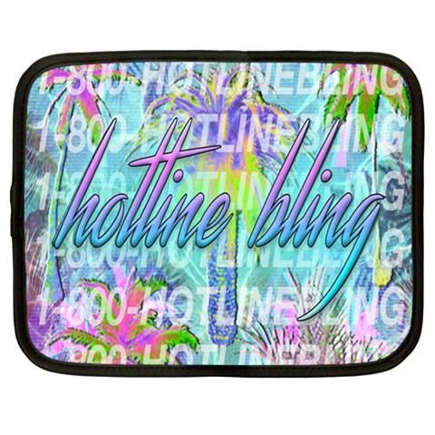 Drake 1 800 Hotline Bling Netbook Case (XL)