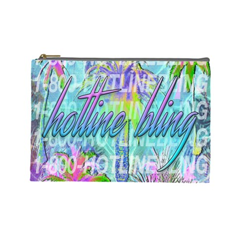 Drake 1 800 Hotline Bling Cosmetic Bag (Large)