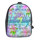 Drake 1 800 Hotline Bling School Bags(Large)  Front