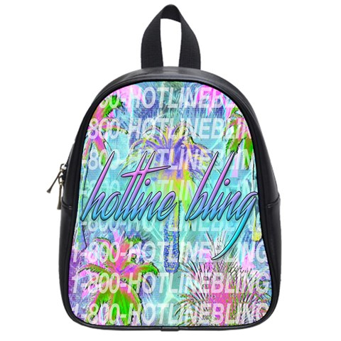Drake 1 800 Hotline Bling School Bags (Small)