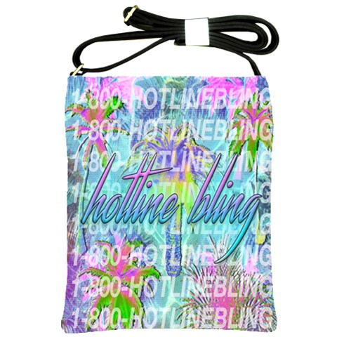 Drake 1 800 Hotline Bling Shoulder Sling Bags