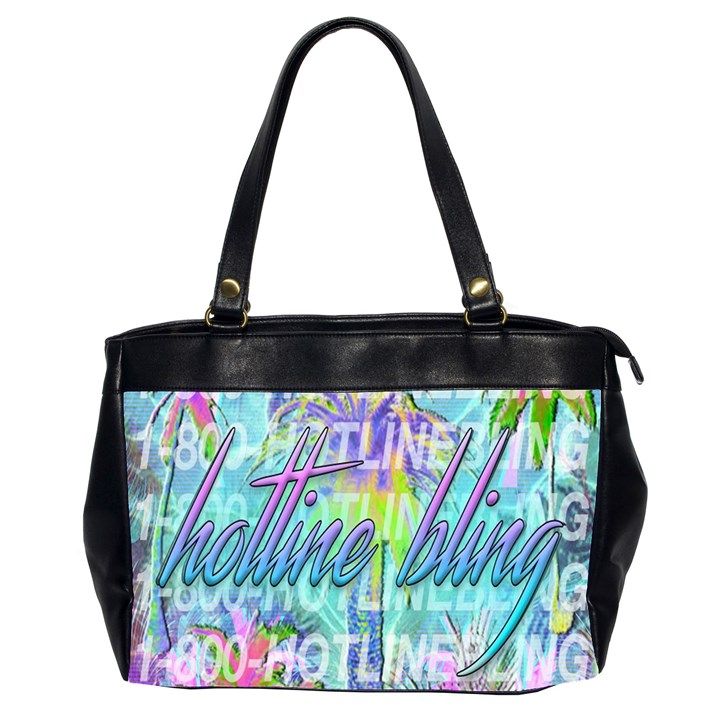 Drake 1 800 Hotline Bling Office Handbags (2 Sides)