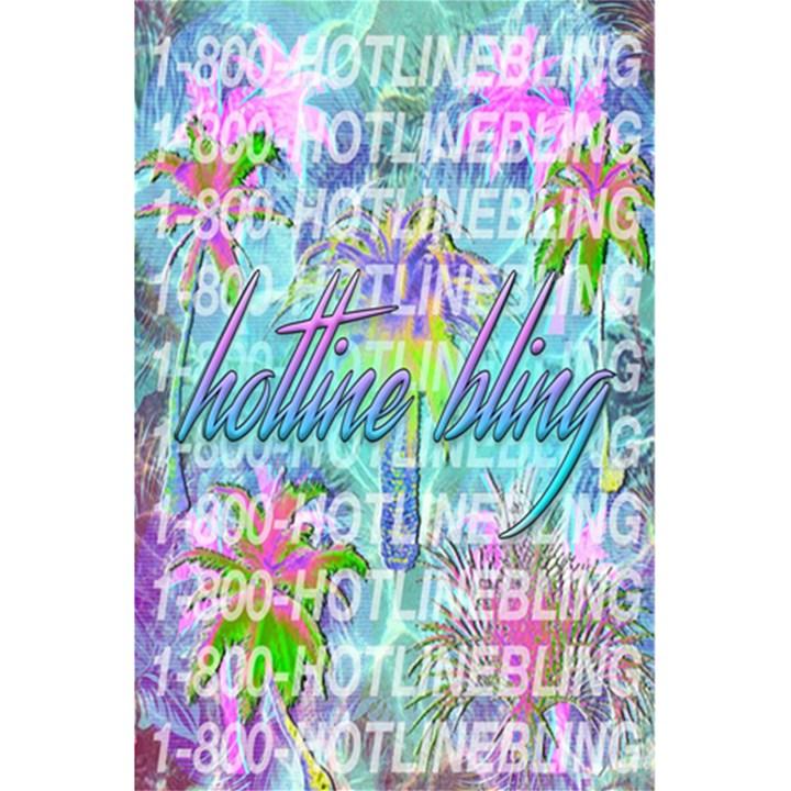 Drake 1 800 Hotline Bling 5.5  x 8.5  Notebooks