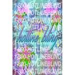 Drake 1 800 Hotline Bling 5.5  x 8.5  Notebooks Back Cover Inside