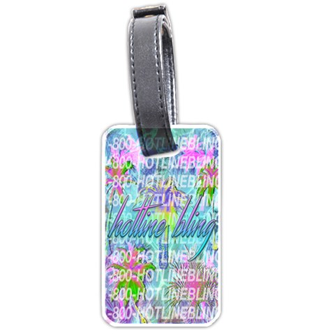 Drake 1 800 Hotline Bling Luggage Tags (Two Sides)