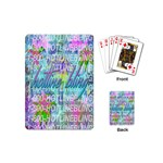 Drake 1 800 Hotline Bling Playing Cards (Mini)  Back