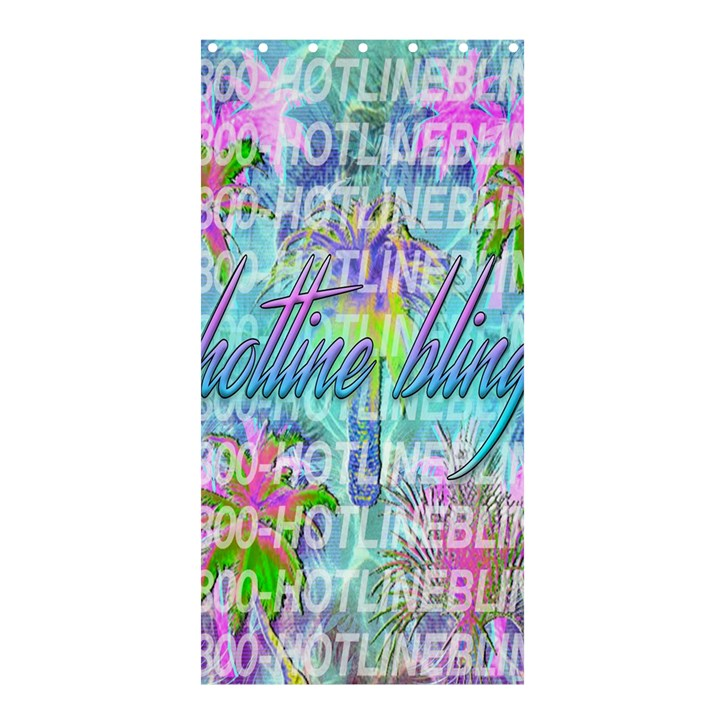 Drake 1 800 Hotline Bling Shower Curtain 36  x 72  (Stall)