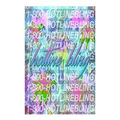 Drake 1 800 Hotline Bling Shower Curtain 48  x 72  (Small)