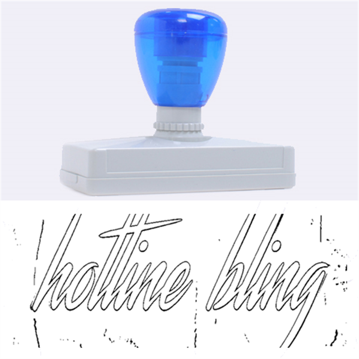 Drake 1 800 Hotline Bling Rubber Address Stamps (XL)