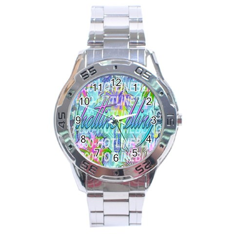 Drake 1 800 Hotline Bling Stainless Steel Analogue Watch