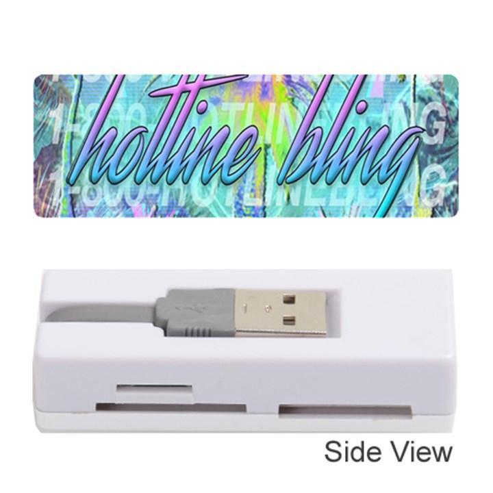 Drake 1 800 Hotline Bling Memory Card Reader (Stick)