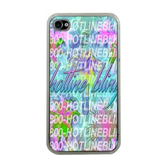 Drake 1 800 Hotline Bling Apple iPhone 4 Case (Clear)