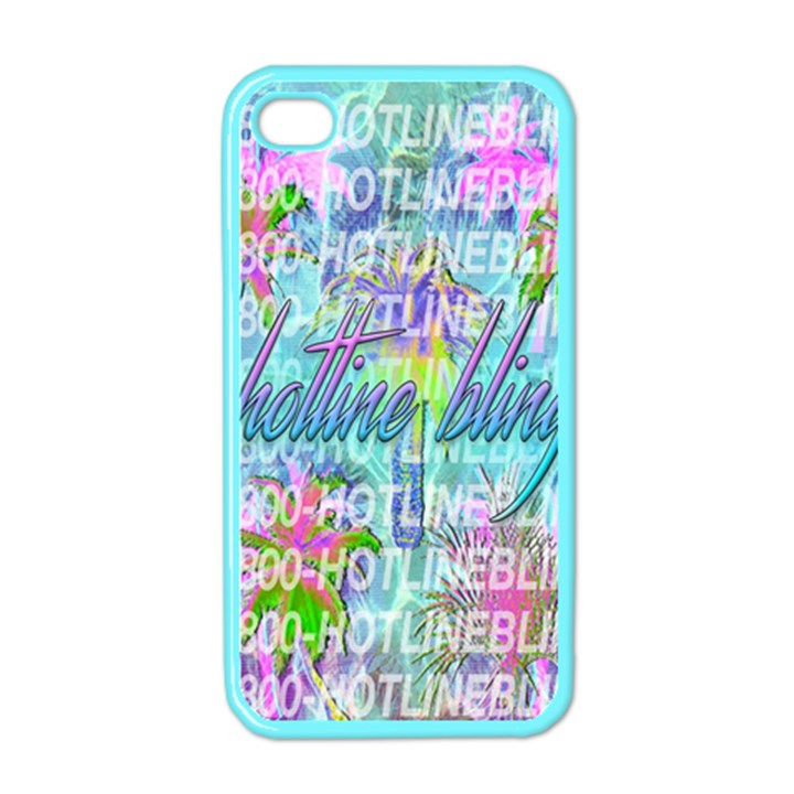 Drake 1 800 Hotline Bling Apple iPhone 4 Case (Color)
