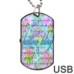Drake 1 800 Hotline Bling Dog Tag USB Flash (One Side) Front
