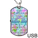 Drake 1 800 Hotline Bling Dog Tag USB Flash (Two Sides)  Back