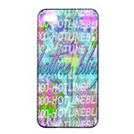 Drake 1 800 Hotline Bling Apple iPhone 4/4s Seamless Case (Black) Front