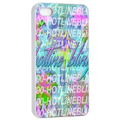 Drake 1 800 Hotline Bling Apple Iphone 4/4s Seamless Case (white)