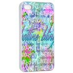 Drake 1 800 Hotline Bling Apple iPhone 4/4s Seamless Case (White) Front