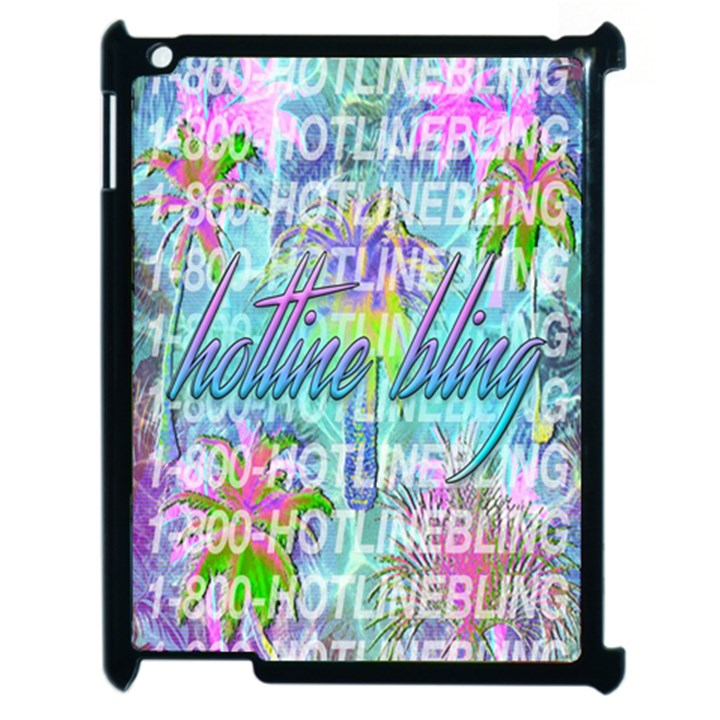 Drake 1 800 Hotline Bling Apple iPad 2 Case (Black)