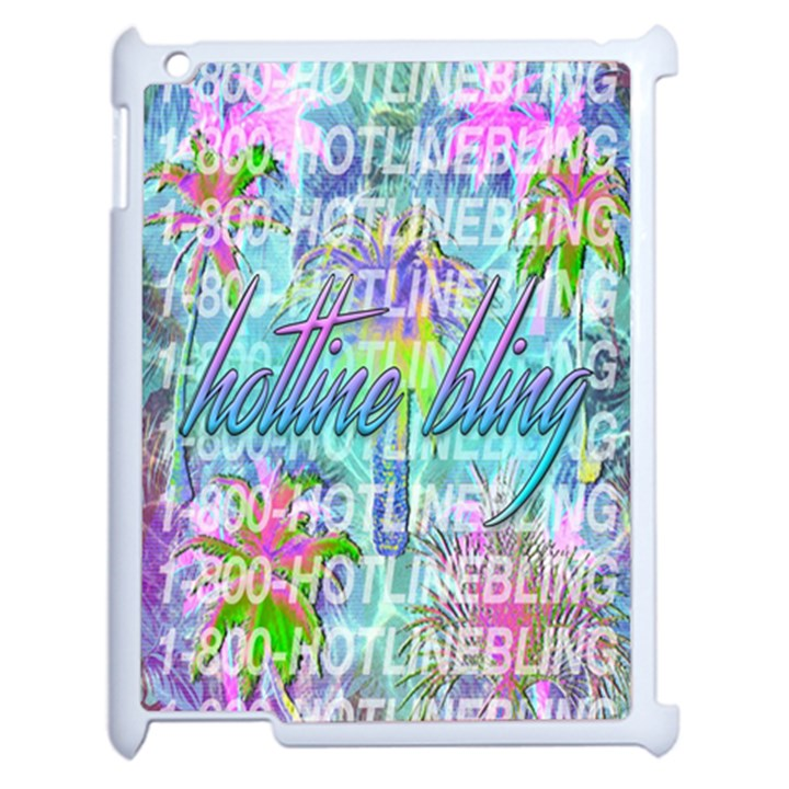 Drake 1 800 Hotline Bling Apple iPad 2 Case (White)