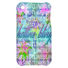Drake 1 800 Hotline Bling Apple iPhone 3G/3GS Hardshell Case