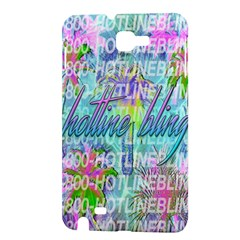 Drake 1 800 Hotline Bling Samsung Galaxy Note 1 Hardshell Case