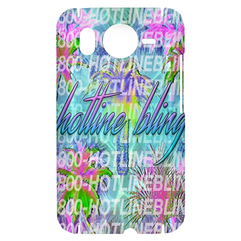 Drake 1 800 Hotline Bling HTC Desire HD Hardshell Case