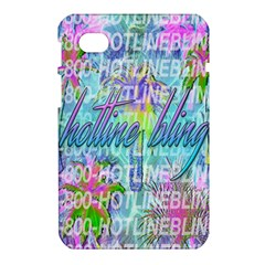 Drake 1 800 Hotline Bling Samsung Galaxy Tab 7  P1000 Hardshell Case